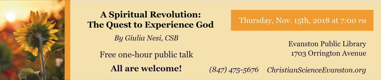 Lecture Thursday Nov 15th